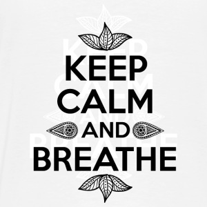 Keep calm and breathe Pullover & Hoodies - Männer Premium T-Shirt