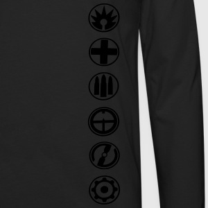 gamer bf 2017 T-Shirts - Men's Premium Longsleeve Shirt