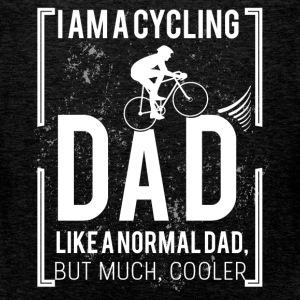 I am a cycling dad, like a normal dad, but much co - Men's Premium Tank Top