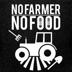 No farmer no food - Men's Premium Tank Top