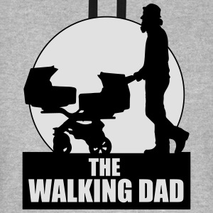 THE WALKING DAD - TWO - TWINNS T-Shirts - Unisex Baseball Hoodie