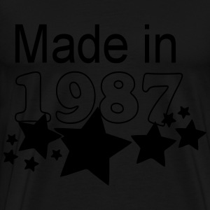 1987 Made in Pullover & Hoodies - Männer Premium T-Shirt