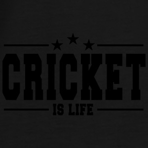 cricket is life 1 Kepsar & mössor - Premium-T-shirt herr