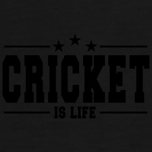 cricket is life 1 Tassen & rugzakken - Mannen Premium T-shirt