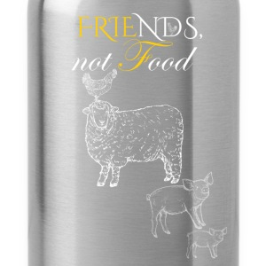 Friends not food - Water Bottle