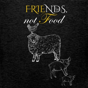 Friends not food - Men's Premium Tank Top