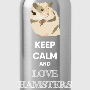 KEEP CALM AND HAMSTER Pullover & Hoodies - Trinkflasche