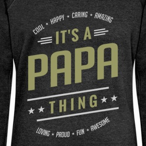 It's a Papa Thing | Gift for Him! - Women's Boat Neck Long Sleeve Top