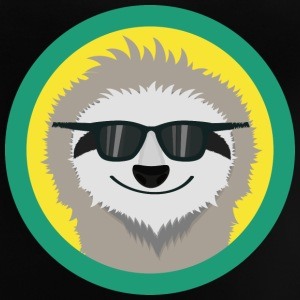 Cool sloth med solbriller T-shirts - Baby T-shirt