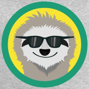Cool sloth with sunglasses Long Sleeve Shirts - Men's Sweatshirt by Stanley & Stella