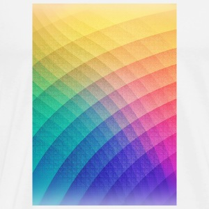 Fancy Spectrum Pattern Design (HDR) - Phone Case Mokken & toebehoor - Mannen Premium T-shirt