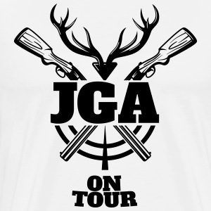 JGA Jagd on Tour Tröjor - Premium-T-shirt herr