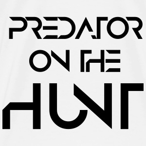 predator on the hunt Turnbeutel - Männer Premium T-Shirt