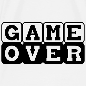 Game Over Turnbeutel - Männer Premium T-Shirt