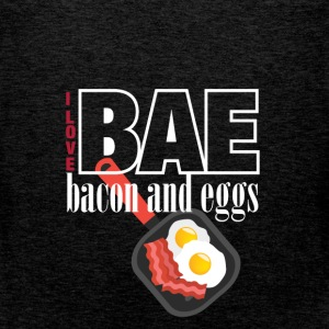 I love BAE bacon and eggs - Men's Premium Tank Top