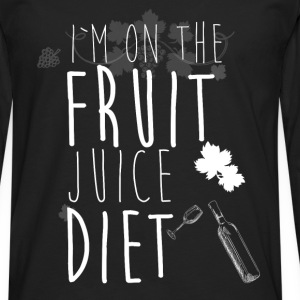 I'm on the fruit juice diet - Men's Premium Longsleeve Shirt