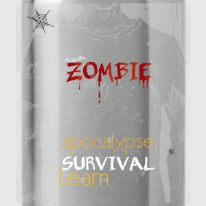 Zombie apocalypse survival team - Water Bottle
