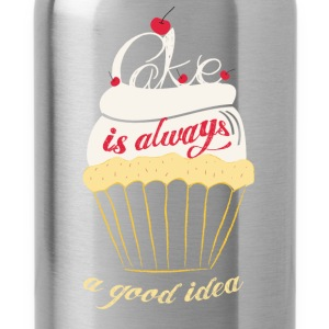 Cake is always a good idea - Water Bottle