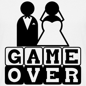Game Over - JGA - Männer T-Shirt