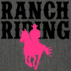 Ranch Riding Cowboy 2C - Schultertasche aus Recycling-Material