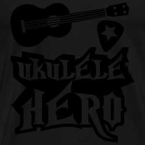 Ukulele Hero Apron - Men's Premium T-Shirt