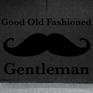 Old Fashioned Gentleman T-Shirt - Snapback Cap