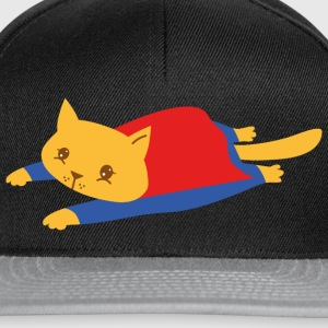 Geek | Superhero Cat | Funny  Illustration Tee shirts - Casquette snapback