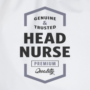 Head Nurse Logo Tees - Drawstring Bag
