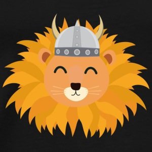 Viking-lion head Bags & Backpacks - Men's Premium T-Shirt