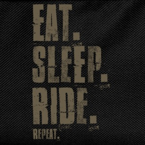 Eat. Sleep. Ride. Repeat. - Kinder Rucksack