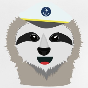 Captain sloth with Hat Shirts - Baby T-Shirt