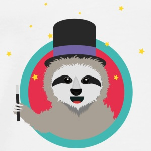 Magican sloth with magic wand Bags & Backpacks - Men's Premium T-Shirt