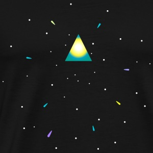 Triangle and space Sweat-shirts - T-shirt Premium Homme