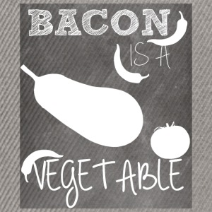 Bacon is a vegetable - Snapback Cap
