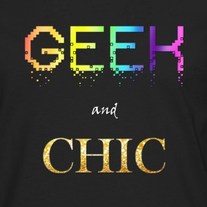 Geek and Chic - Homme - T-shirt manches longues Premium Homme