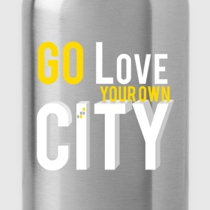 Go love your own city - Water Bottle