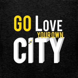 Go love your own city - Men's Premium Tank Top