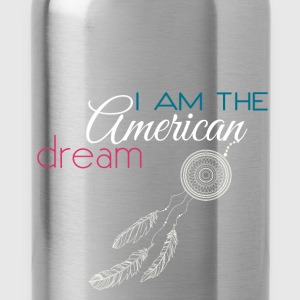 I am the American dream - Water Bottle