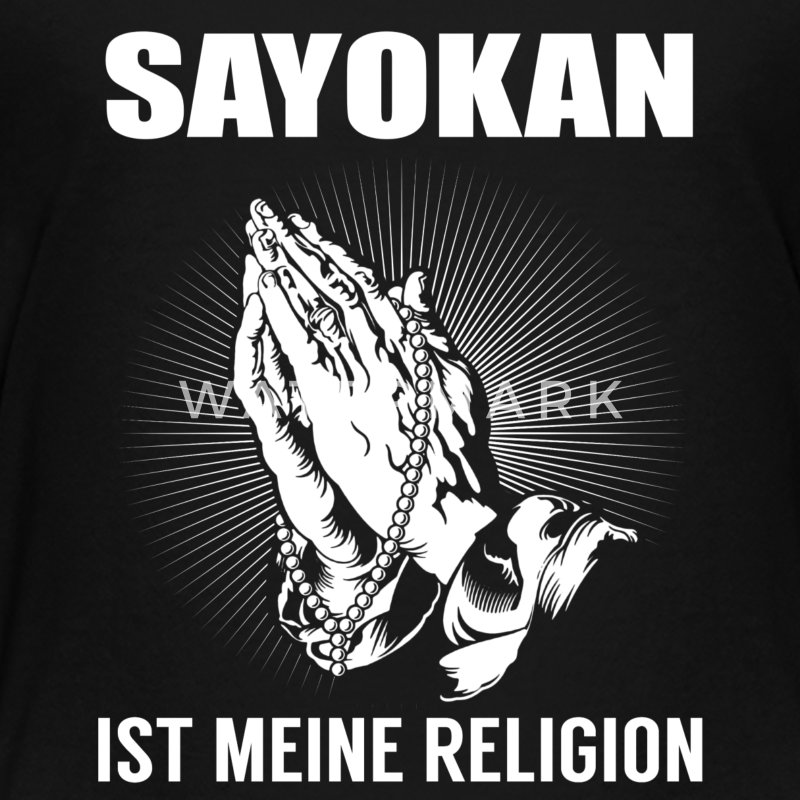 Sayokan - meine Religion T-Shirts - Teenager Premium T-Shirt