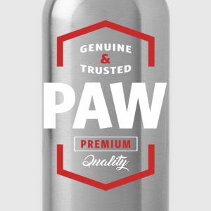 Genuine Paw Tshirt - Water Bottle