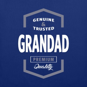 Genuine Grandad Tshirt - Tote Bag