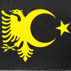 albanien_turkey_eagle.svg Pullover & Hoodies - Snapback Cap