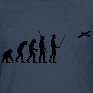 Evolution model airplane T-Shirts - Men's Premium Longsleeve Shirt