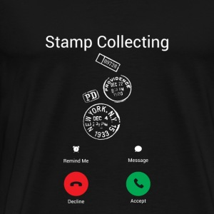 Call the stamp Hoodies & Sweatshirts - Men's Premium T-Shirt