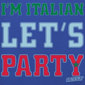 I'm Italian Let's Party, Amokstar ™ T-Shirts - Kids' Premium Hoodie