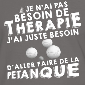 Therapie petanque Sweat-shirts - T-shirt contraste Homme