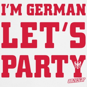 I'm German Let's Party, Amokstar ™ T-Shirts - Kochschürze