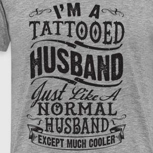 TATTOOED HUSBAND - Men's Premium T-Shirt