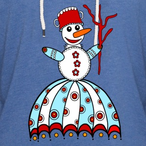 Snowman, winter, snow, children, baby, snowflake Shirts - Light Unisex Sweatshirt Hoodie