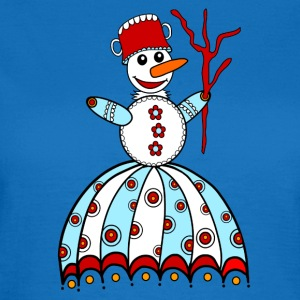 Snowman, winter, snow, children, baby, snowflake Bags & Backpacks - Women's T-Shirt